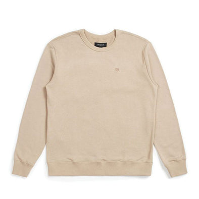 Brixton B-Shield FT Crew Light Khaki