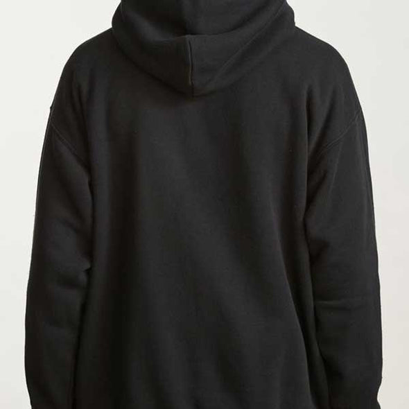 Brixton Banquet Hood Fleece Black - Xtreme Boardshop