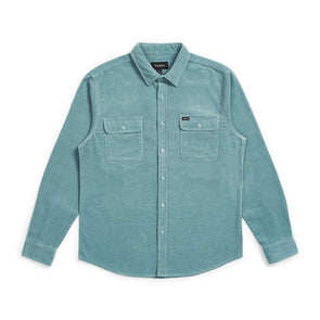 Brixton Bowery L/S Flannel Jade