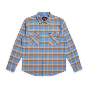 Brixton Bowery L/S Flannel River Blue