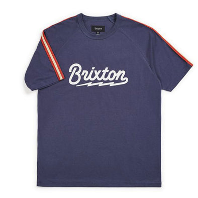 Brixton Dory S/S Knit Washed Navy