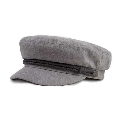 Brixton Fiddler Cap Steel Grey - Xtreme Boardshop