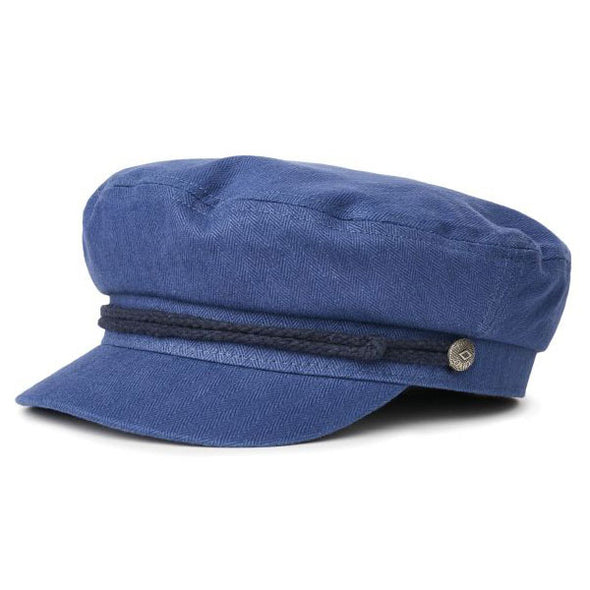 Brixton Fiddler Cap Washed Navy/Dark Navy