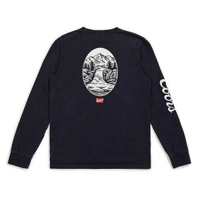 Brixton Filtered L/S Navy