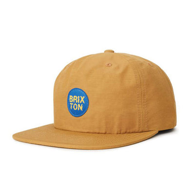 Brixton Glasgow MP Snapback Copper