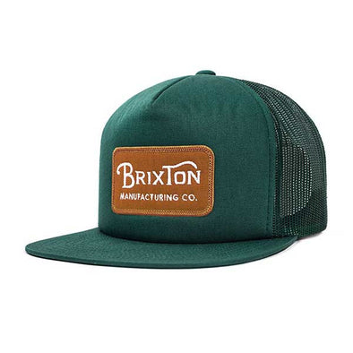 Brixton Grade Mesh Cap Forest Green - Xtreme Boardshop