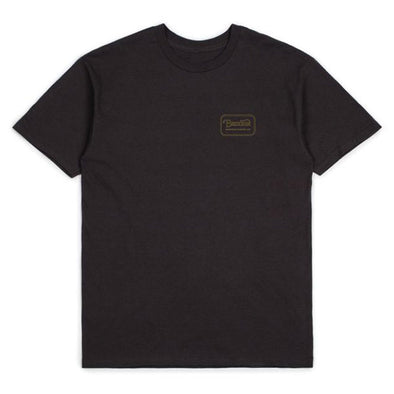 Brixton Grade S/S Standard Tee Washed Black/Bronze