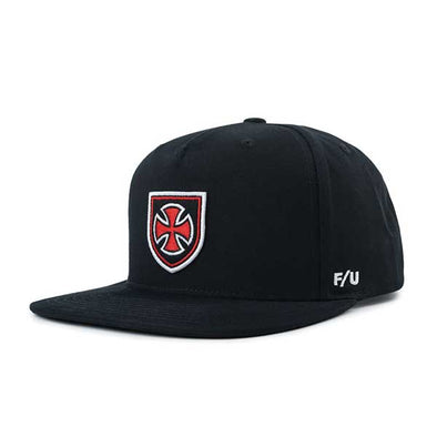 Brixton x Independent Hedge MP Snapback Black