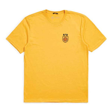 Brixton x Independent Hedge S/S Premium Tee Yellow
