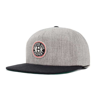 Brixton Louisville Cap Light Heather Grey/Black - Xtreme Boardshop