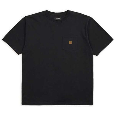 Brixton Damsel Main Label S/S Pocket Knit Black