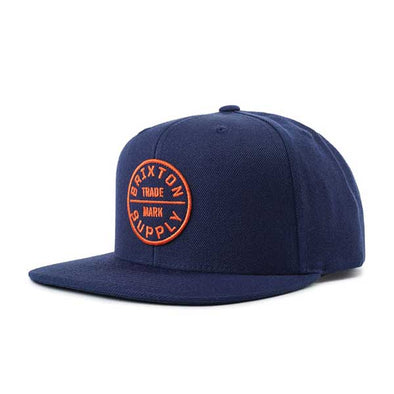 Brixton Oath III Snapback SP19 Patriot Blue