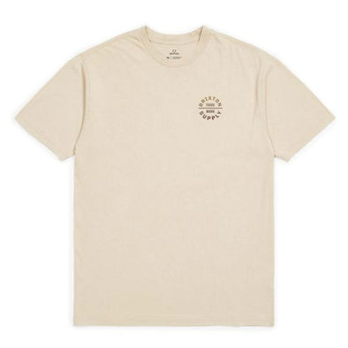 Brixton Oath V S/S Standard Tee Natural/Gradient