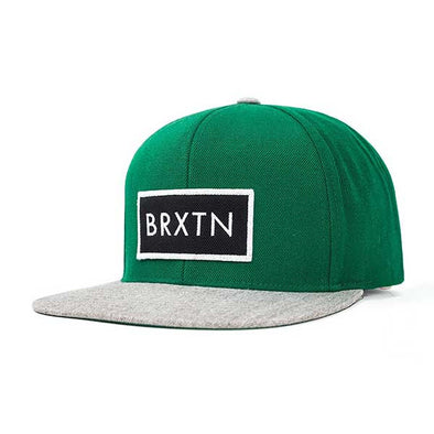 Brixton Rift Snapback Hunter/Heather Grey - Xtreme Boardshop