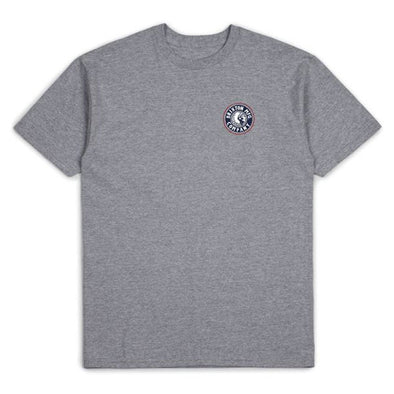 Brixton Rival II S/S Standard Tee Heather Grey/Washed Navy