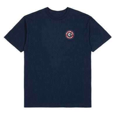 Brixton Rival II S/S Standard Tee Navy/Red
