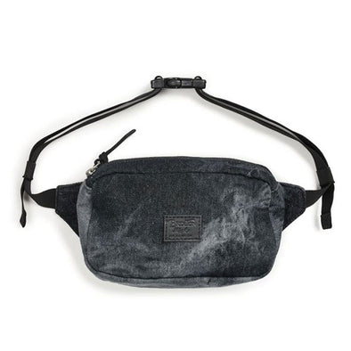 Brixton Stewart Hip Pack Black Acid Wash