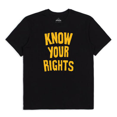 Brixton Strummer Know Your Rights II S/S Standard Tee Black