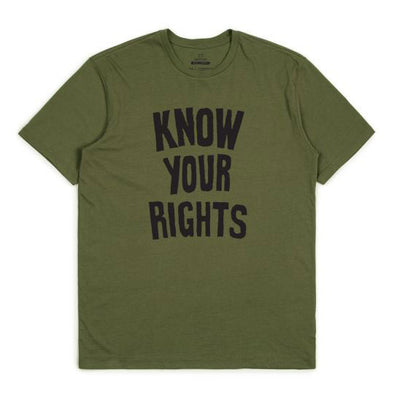 Brixton Strummer Know Your Rights II S/S Standard Tee Military Green