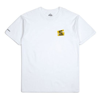 Brixton Strummer Know Your Rights S/S Standard Tee White
