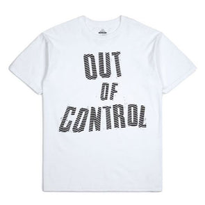 Brixton Strummer Out Of Control S/S Standard Tee White
