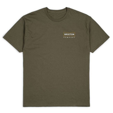Brixton Wedge S/S Standard Tee Olive