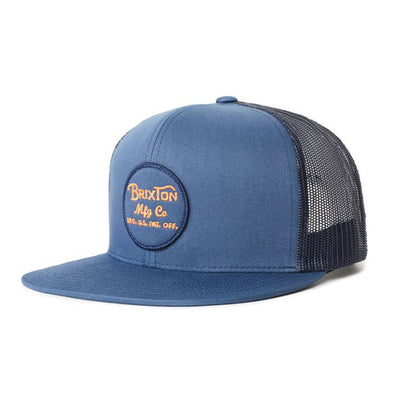 Brixton Wheeler Mesh Cap Washed Navy