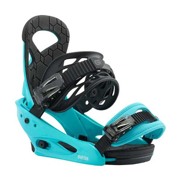 Burton 2019 Kid's Smalls Snowboard Binding Surf Blue One Size - Xtreme Boardshop