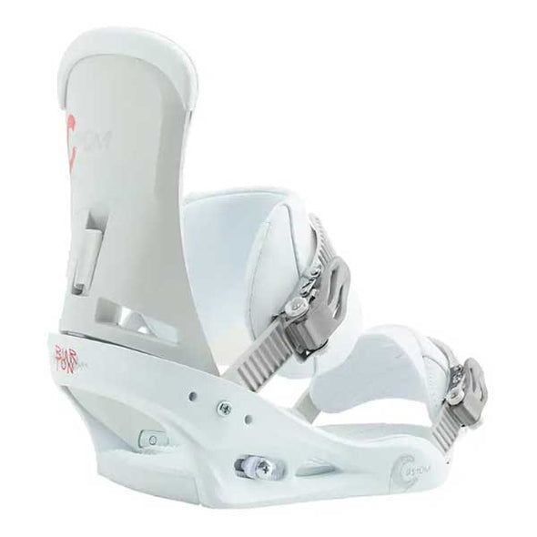 Burton 2019 Men's Custom Re:Flex™ Snowboard Binding White