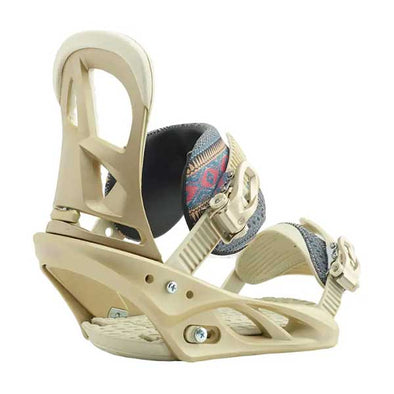 Burton 2019 Women's Scribe Re:Flex™ Snowboard Binding Dusty Rose Size M (6-8)