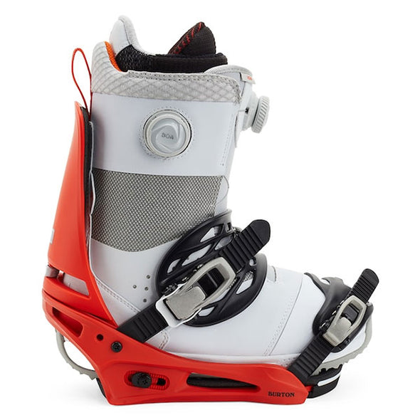 Burton 2021 Men's Cartel Re:Flex Snowboard Binding Bright Red