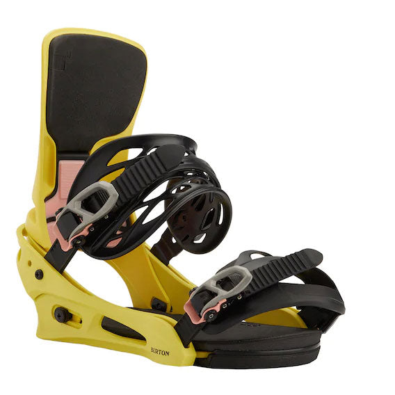 Burton 2021 Men's Cartel X Re:Flex Snowboard Binding Yellow