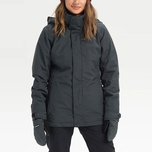 Burton 2021 Women's Jet Set Jacket True Black Heather