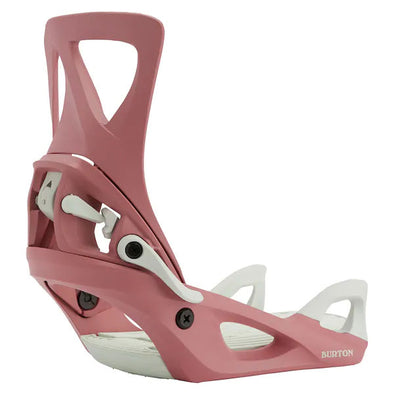 Burton 2021 Women's Step On® Re:Flex Snowboard Binding Dusty Rose