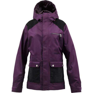 B By Burton 2013 Women's Aster Snowboard Jacket Violet - Xtreme Boardshop