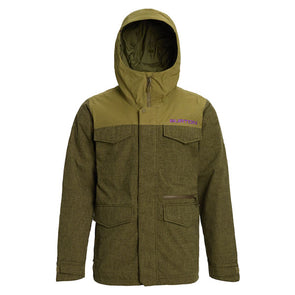 Burton 2020 Men's Covert Jacket Keef Heather/Martini Olive