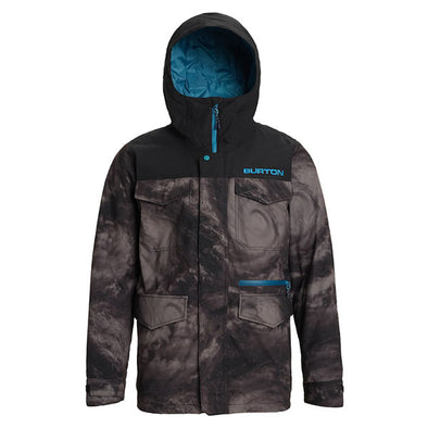 Burton 2020 Men's Covert Jacket Low Pressure/True Black