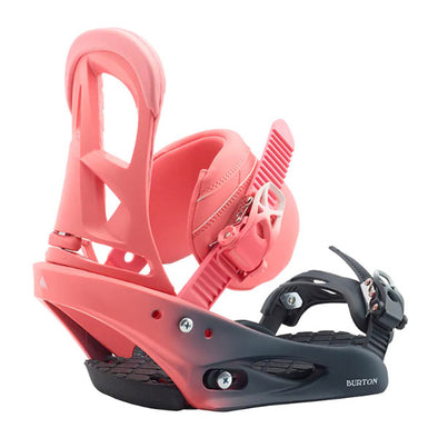 Burton 2020 Women's Stiletto Re:Flex™ Snowboard Binding Pink Fade