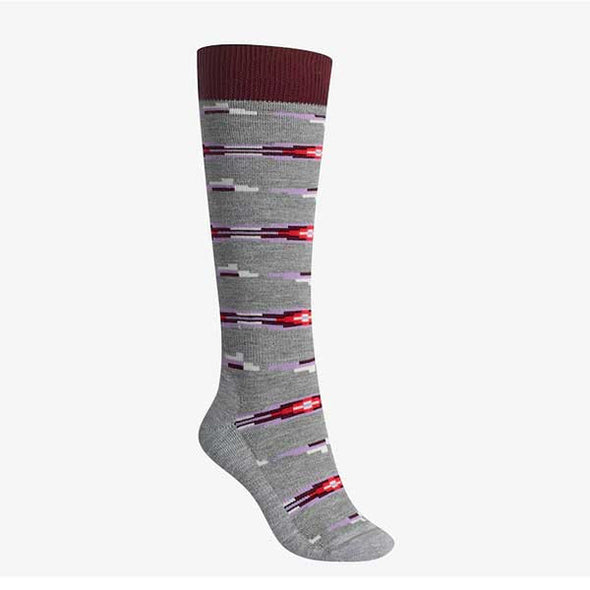Burton 2017 Women's Shadow Snow Sock Heather Iron Gray - Xtreme Boardshop
