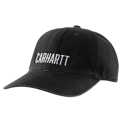 Carhartt Canvas Ball Cap Black