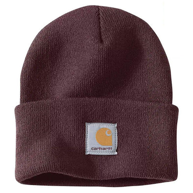 Carhartt Arcylic Watch A18 Beanie Deep Wine