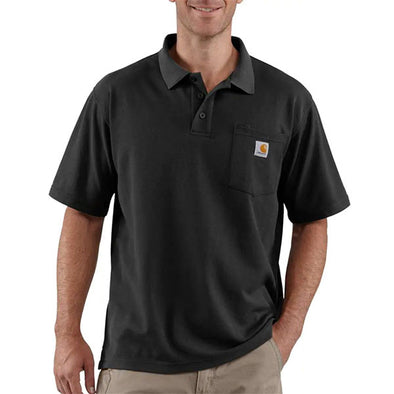 Carhartt Contractor's Work Pocket Polo Black