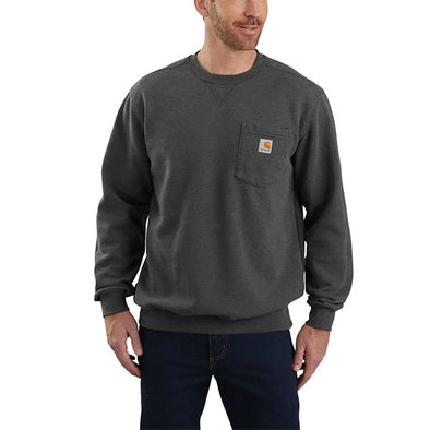 Carhartt Crewneck Pocket Sweatshirt Carbon Heather