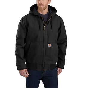 Carhartt Washed Duck Insulated Active Jacket Black