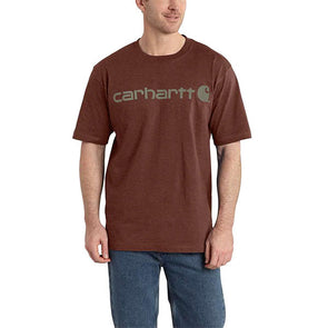 Carhartt Signature Logo Iron Ore Heather