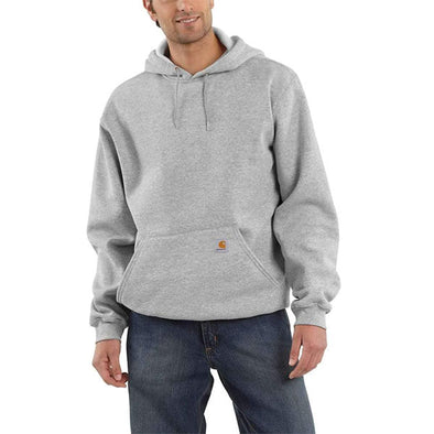 Carhartt Midweight Hooded Pullover Sweatshirt Heather Grey