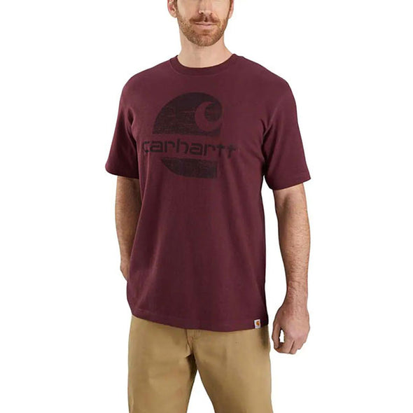 Carhartt Original Fit Heavyweight Logo Graphic Port