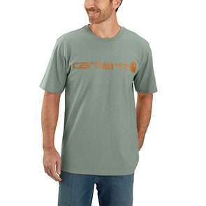 Carhartt Signature Logo Leaf Green Heather