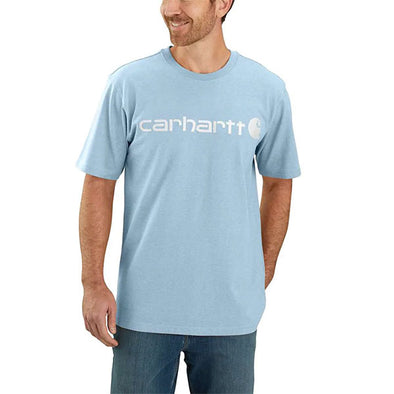 Carhartt Signature Logo Tourmaline Heather