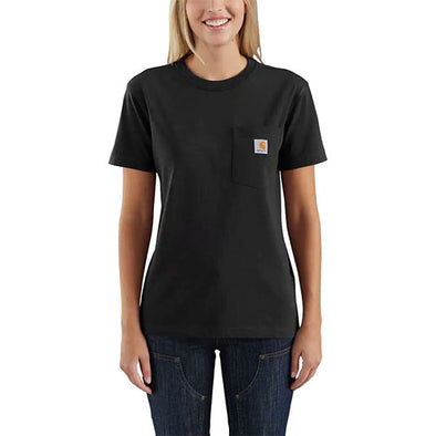 Carhartt Women's WK87 Workwear Pocket Black